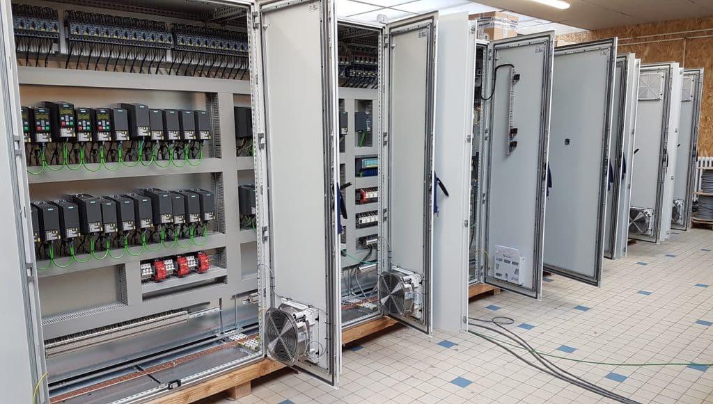 Armoire électrique industrielle LCD Automatisme