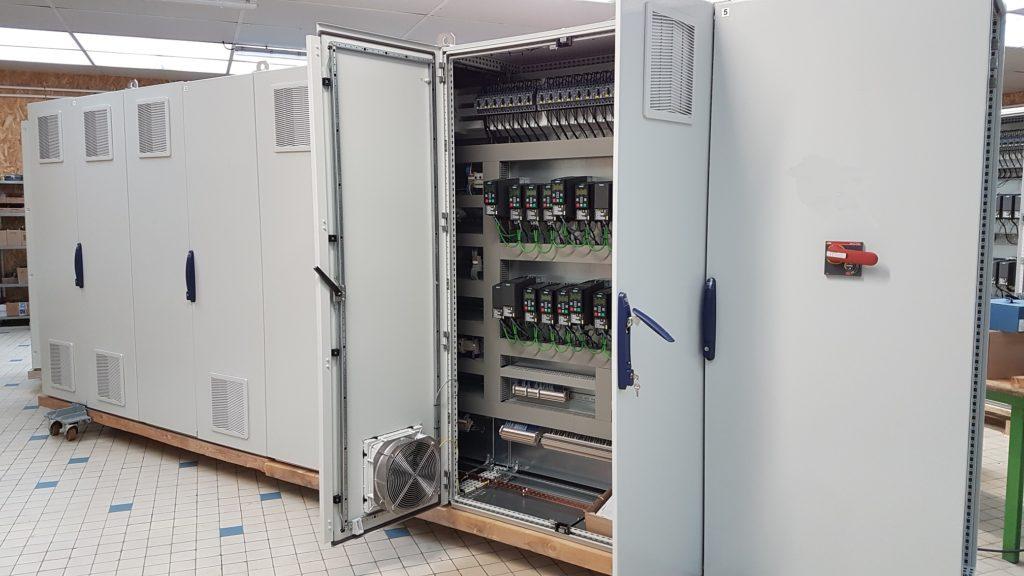 Réalisation : armoire électrique industrielle LCD Automatisme