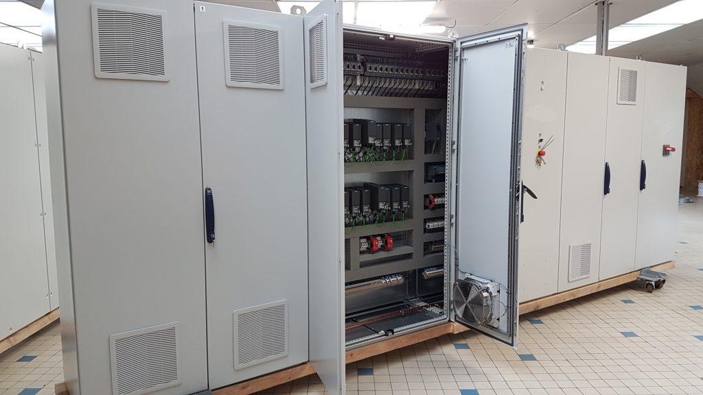 Réalisation : armoire électrique industrielle